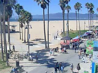Beach Cams of Los Angeles, California - Webcams at Santa ...