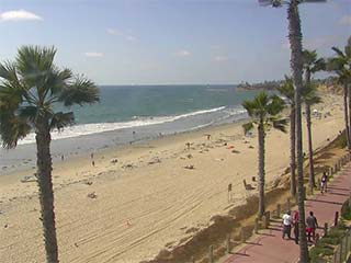 Pacific Beach Coastline Cam