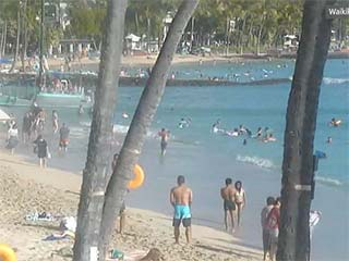 Beach Cams of Oahu, Hawaii - Webcams at Waikiki Beach