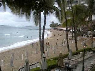Beach Cams of Oahu, Hawaii - Webcams at Waikiki Beach